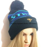 Beanie крышки крышки Hat//Jacquard зимы/связанная крышка