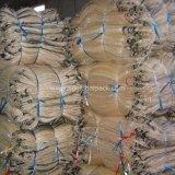 Gelber pp.-Ineinander greifen-Beutel für verpackenbrennholz