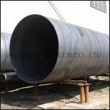 Tubo saldato a spirale galvanizzato del acciaio al carbonio del tubo d'acciaio