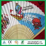 Ventilador de papel de bambú de Prmotional Japón de la alta calidad