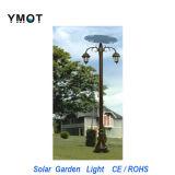 Lumière solaire extérieure de jardin de la lampe DEL