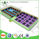ASTM Chine Wenzhou Large Commercial Plan Trampoline Park pour Sports Games