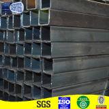 Tubo cuadrado de acero soldado 30X30 común del carbón para la estructura