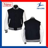 Healongはスポーツ・ウェアの大学マッチの男子野球のジャケットをカスタム設計する