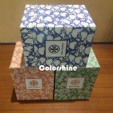 Квадратная коробка подарка упаковки бумаги свечки высокого качества 3 с серой доской