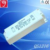 40-60W ninguna fuente de alimentación ancha de la luz del panel del voltaje del parpadeo LED con el Ce TUV QS1216