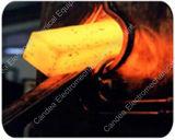 IGBTの鋼鉄棒の鍛造材の炉が付いている産業誘導加熱機械