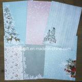 O papel da coleção do cartão de Natal ajusta o papel de papel do Scrapbook da almofada A5 DIY de A4 Scrapbooking