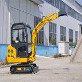 Mini máquina escavadora da fábrica 5 toneladas de máquina escavadora