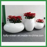 Potenciômetros de flor da decoração da fibra de vidro da alameda de compra