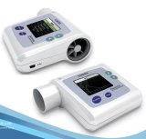 Ce Certified Spirometer Color Display Pneumatometer Record Data met Software (SP10) op Sale!