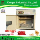 Incubateur d'oeufs d'oeufs de poulet de Digitals mini d'incubateur d'utilisation automatique de famille avec 88 oeufs