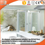 Portelli di vetro di alluminio di legno pieganti disegno di ultimo e di Framele giapponese