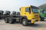 판매를 위한 Sinotruk Zz4257n3247c1 HOWO 6X4 트랙터 트럭 세미트레일러 헤드