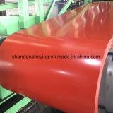 A cor de Ral revestiu a bobina de aço de Galvanzed Steel/PPGI/PPGL/Al