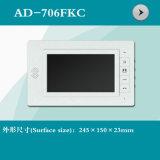 Interpréteur de commandes interactif visuel de téléphone de porte de 7 pouces (AD-706FKC)