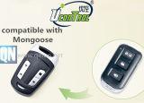 Alarme de voiture de pièce de rechange de rechange de mangouste à télécommande