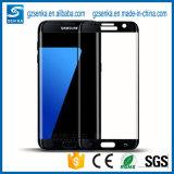 ausgeglichenes Glas-Bildschirm-Schoner der Volldeckung-3D für Rand der Samsung-Galaxie-S7