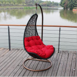 Chromatic Factory Outdoor Swing, Meubles en rotin, Chaise suspendue à oeil en intérieur Swing (D018)