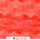 Yingcai 1m 폭 빨간 돌 패턴 수로학 필름