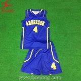 Het Basketbal Eenvormig Jersey van de Goedkope Omkeerbare Vrouwen van de Sublimatie van de universiteit