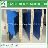 Ранг 17mm мебели доска частицы меламина обеих сторон голубая/Flakeboard