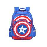Sacos de escola das crianças baratas por atacado do capitão América
