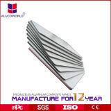 El PE de aluminio del panel del material compuesto de Alucoworld cubrió para el interior