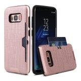 Caso combinado de Solt de la tarjeta para Samsung S8 Egde