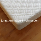 Tela del poliester del bambú el 30% del 70% con el protector del colchón de TPU