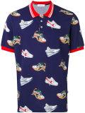 Het Overhemd van het Polo van de Mensen van de douane met Gevormde Schoen