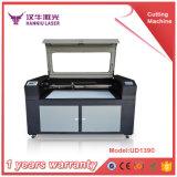 Ud1390 arriba y abajo del corte del laser del vector y de la máquina de grabado