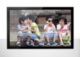 22 - Pulgada que hace publicidad del quiosco montado en la pared del monitor de la pantalla táctil del indicador digital del panel del LCD