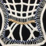 35*31cm hanno colorato la frangia spessa molle della striscia del ricamo del cotone del Crochet del collare del testo fisso splendido del merletto con la guarnizione svizzera del merletto del voile per la signora Garment Accessories Hm207