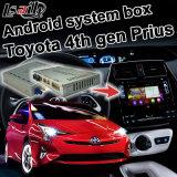 De androïde GPS VideoInterface van de Doos van de Navigatie voor Gen WiFi Waze Youtube van Toyota Prius 2016 de 4de Eenheid van de Pionier