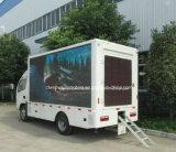 4X2 véhicule imperméable à l'eau mobile de la publicité d'écran de la vente chaude DEL