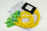 Faser-Optikteiler der SC/PC Verbinder-Input-und Sc/APC Verbinder-Ausgabe-Längen-1.5m der Längen-2X32