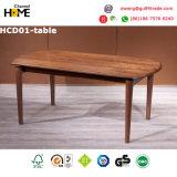 現代食堂の木のダイニングテーブル(HCD01)