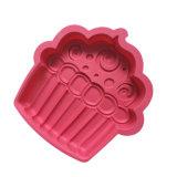 Molde de la torta del silicón del certificado del FDA, molde de la torta del silicón de la dimensión de una variable del helado/molde del pudín/molde del silicón del helado