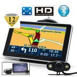 Système de navigation populaire du tableau de bord GPS de véhicule de 5.0 pouces avec Bluetooth