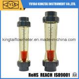 Tipo plástico contador del tubo de flujo del rotámetro