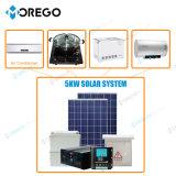 Sistema solar de Morego fora da grade 5kw com os painéis solares de eficiência 6bb elevada