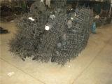 자유로운 서 있는 철사와 금속 진열대