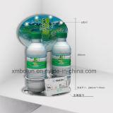Compteur d'étalage de bouteilles personnalisé par métal type