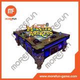 Машина видеоигры охотника короля 3 рыбы океана