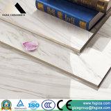 陶磁器の600*600mm無作法な磨かれた艶をかけられた石造りの大理石の床タイル(JA81020PMQ1)