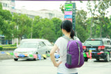 متعدّد وظائف أرجوانيّة رياضات حمولة ظهريّة حقيبة مدرسة