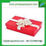 Attraktive Bowknotweihnachtenpappverpackengeschenk-Kasten