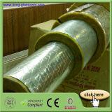 Tubo delle lane di vetro di buona qualità 64kg/M3