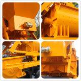 De elektrische Pomp van de Concrete Mixer van de Aanhangwagen van de Hoge Efficiency met de Mixer van de tweeling-Schacht